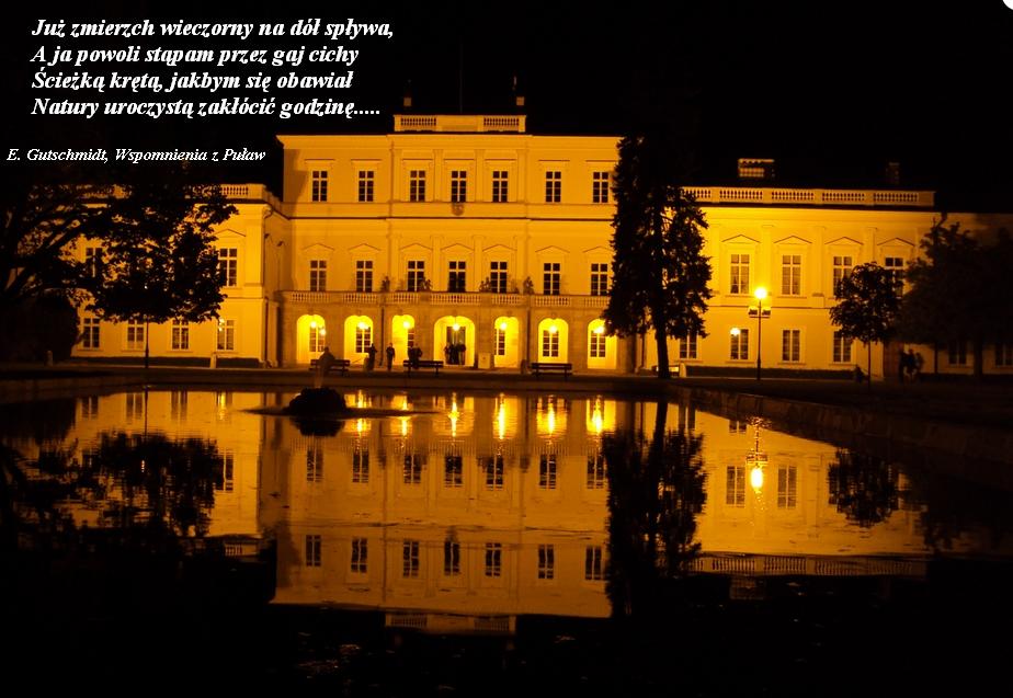 Pałac Czartoryskich w nocy